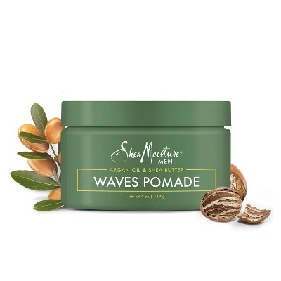 SheaMoisture Argan Oil & Shea Butter Waves Pomade - 4oz