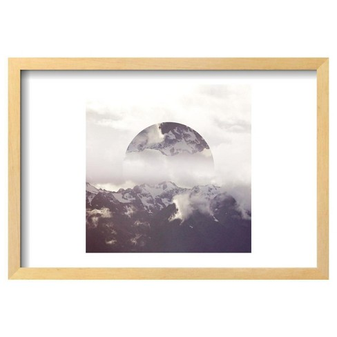 "Reflected Landscape IV by Laura Marshall Framed Poster 19""x13"" - Art.Com - image 1 of 4"