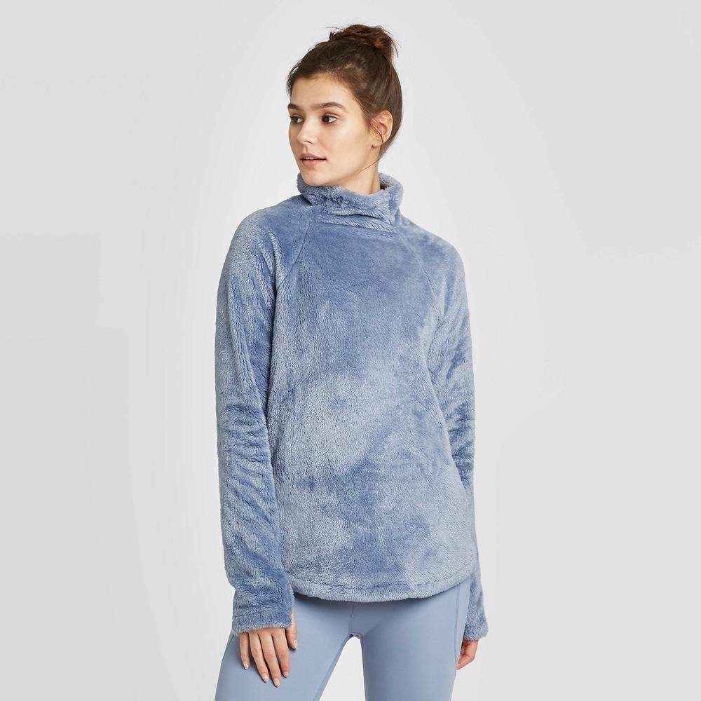 Image of Women's High Pile Pullover - Joylab Blue L, Women's, Size: Large