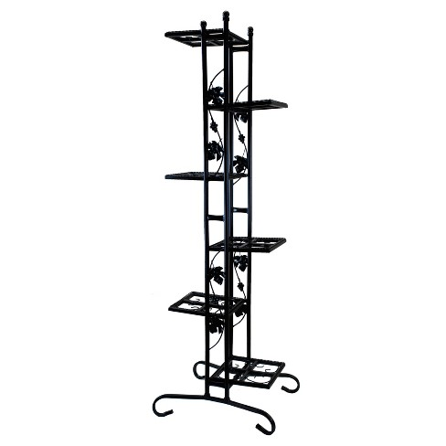 "22"" Oakland Rectangle Plant Stand - Black - image 1 of 2"