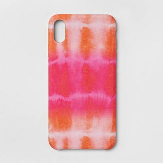 heyday™ Apple iPhone XS Max Tie Dye Case - Pink/Orange