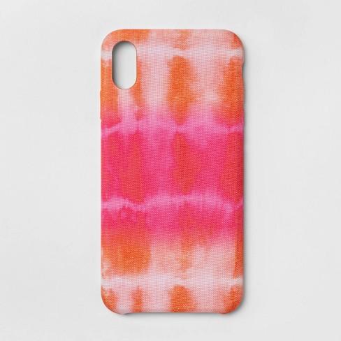 big sale ffc85 05585 heyday™ Apple iPhone XS Max Tie Dye Case - Pink/Orange