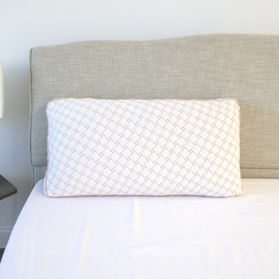SensorPEDIC Gel-Infused Memory Foam Cluster Bed Pillow with Copper-Infused Cover