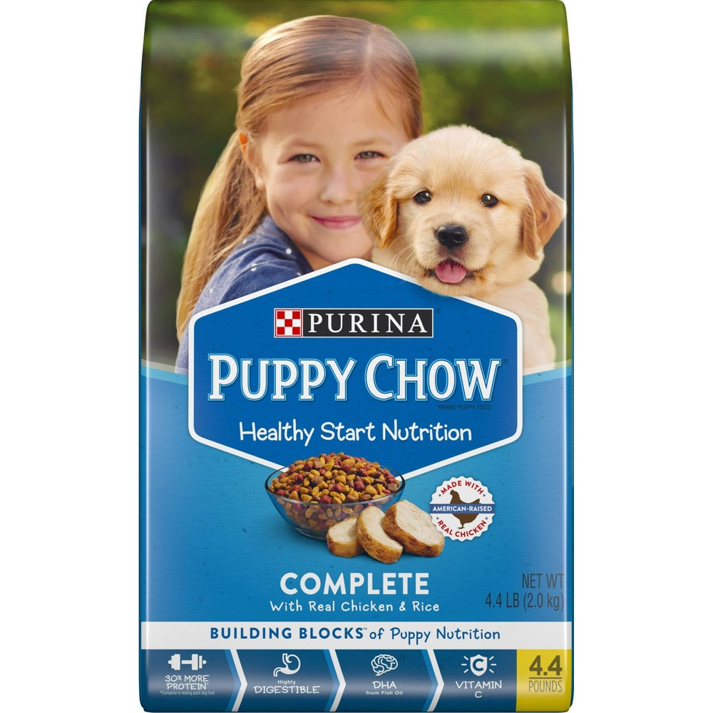 Purina Puppy Chow Complete Dry Dog Food - 4.4lbs