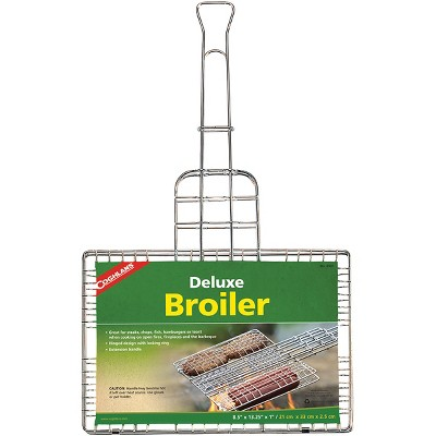 Coghlan's Deluxe Broiler, Cook Over Open Fire, Camping Fireplaces, and Barbeque