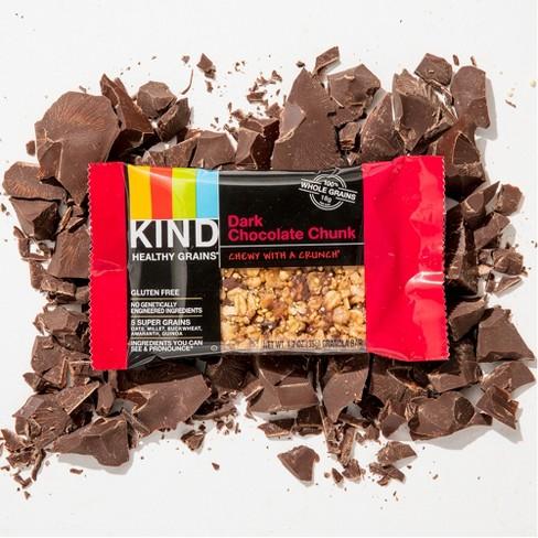 KIND Healthy Grains® Dark Chocolate Chunk, Gluten Free Granola Bars - 5ct