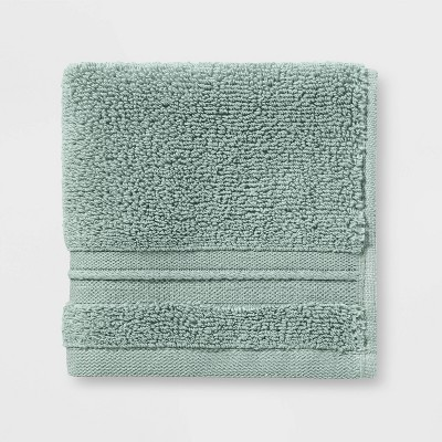 Spa Washcloth Light Green - Threshold Signature™