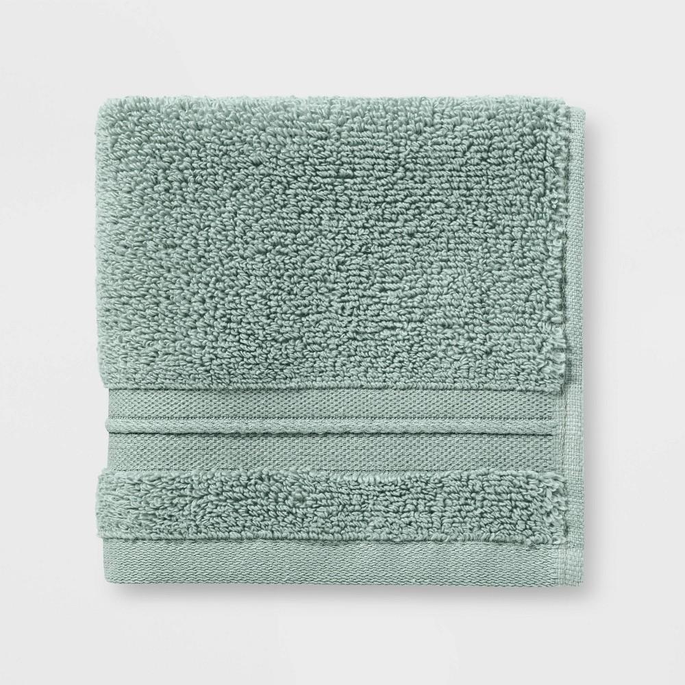 Spa Washcloth Light Green - Threshold Signature Best
