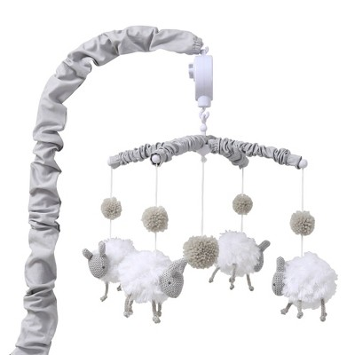 Farmhouse Musical Sheep Mobile by The Peanutshell
