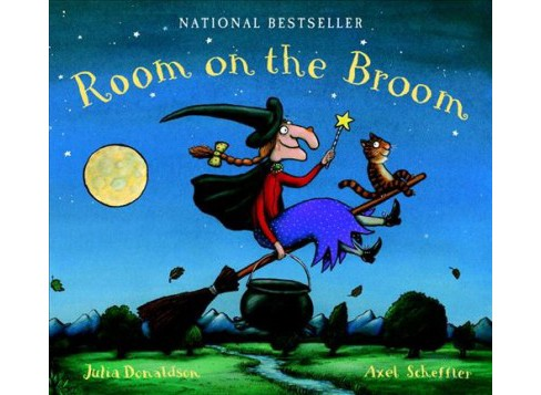 Room on the Broom : Lap Edition -  by Julia Donaldson (Hardcover) - image 1 of 1