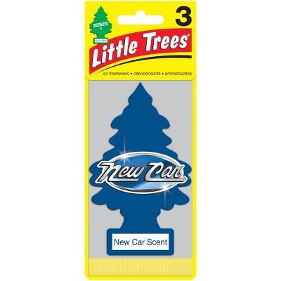 Little Trees New Car Scent Air Freshener 3pk