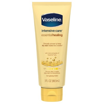 Vaseline Intensive Care Body Lotion Essential Healing 3oz