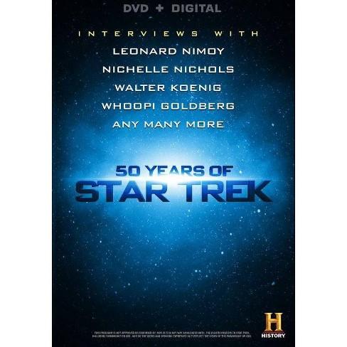 50 Years of Star Trek (DVD)(2016) - image 1 of 1