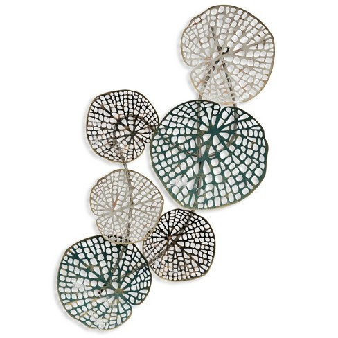 "16"" Metal Abstract Decorative Wall Art - StyleCraft - image 1 of 2"