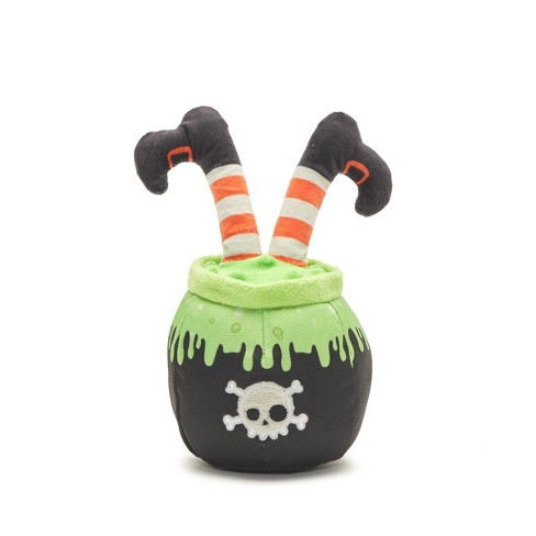 BARK Witch Cauldron Dog Toy - Resting Witch Place - image 1 of 6