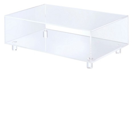 Hamilton Home Lucite 2 Tier Coffee Table - Clear - image 1 of 2