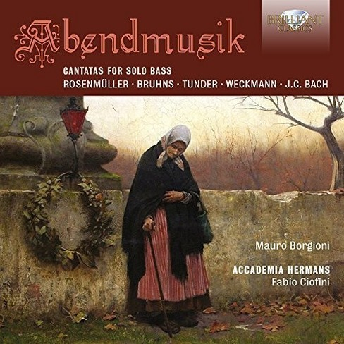 Academia hermans - Abendmusik:Cantatas for solo bass (CD) - image 1 of 1