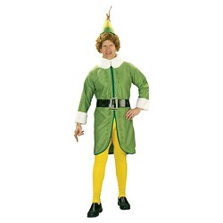 Men's Buddy The Elf Adult Costume One Size