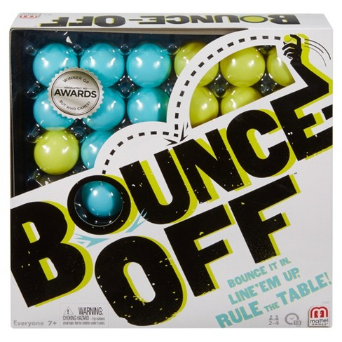 Bounce-Off Challenge Pattern Game for 2-4 Players Ages 7Y+ - image 1 of 4