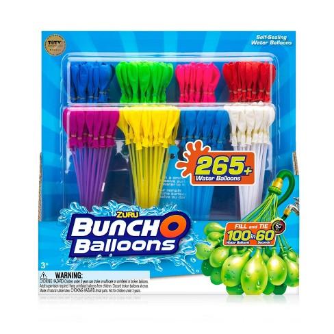 Zuru Bunch O Balloons 280 Rapid-Filling Self-Sealing Water Balloons - image 1 of 12