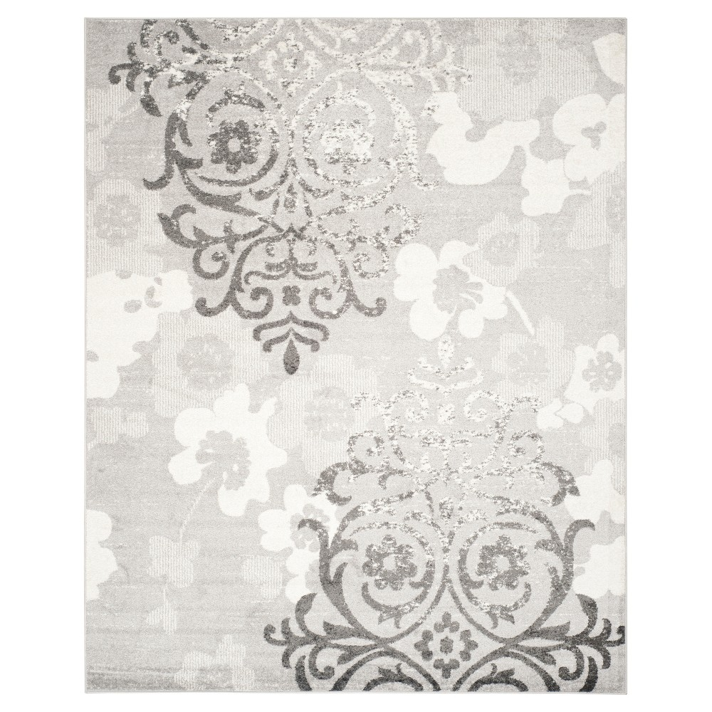 Norwel Area Rug - Silver/Ivory (8'x10') - Safavieh