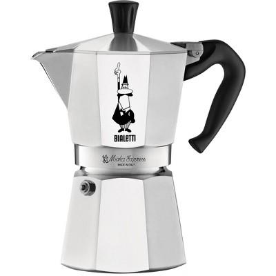 BIALETTI Moka 6 Cup Express Espresso Maker