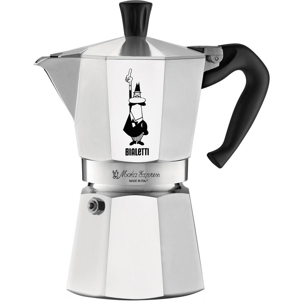 Image of BIALETTI Moka 6 Cup Express Espresso Maker