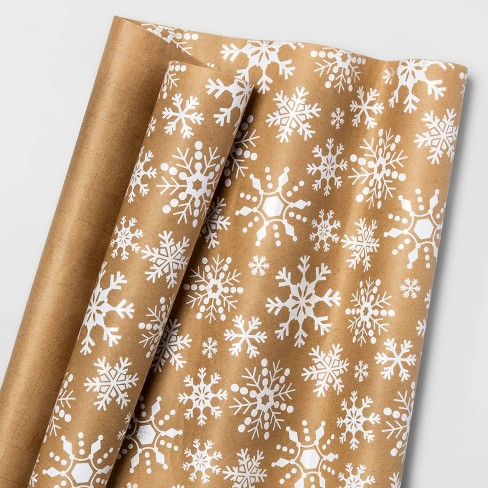 Snowflake Gift Wrap - Wondershop™ - image 1 of 1