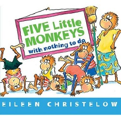 Terrific Five Little Monkeys Bake A Birthday Cake By Eileen Christelow Funny Birthday Cards Online Inifofree Goldxyz