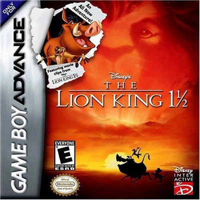 Lion King 1 1/2 GBA