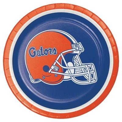 "8ct University of Florida 7"" Dessert Plates - NCAA"
