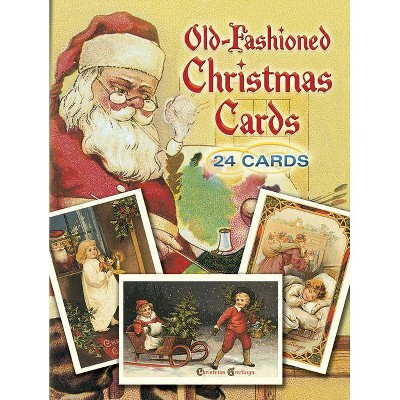 Old Fashioned Christmas Cards Dover Postcards By Gabriella Oldham Paperback Target