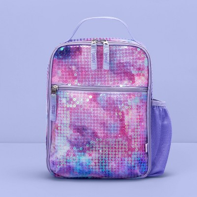 Kids' Lunch Tote Galaxy All Over Sequin - More Than Magic™