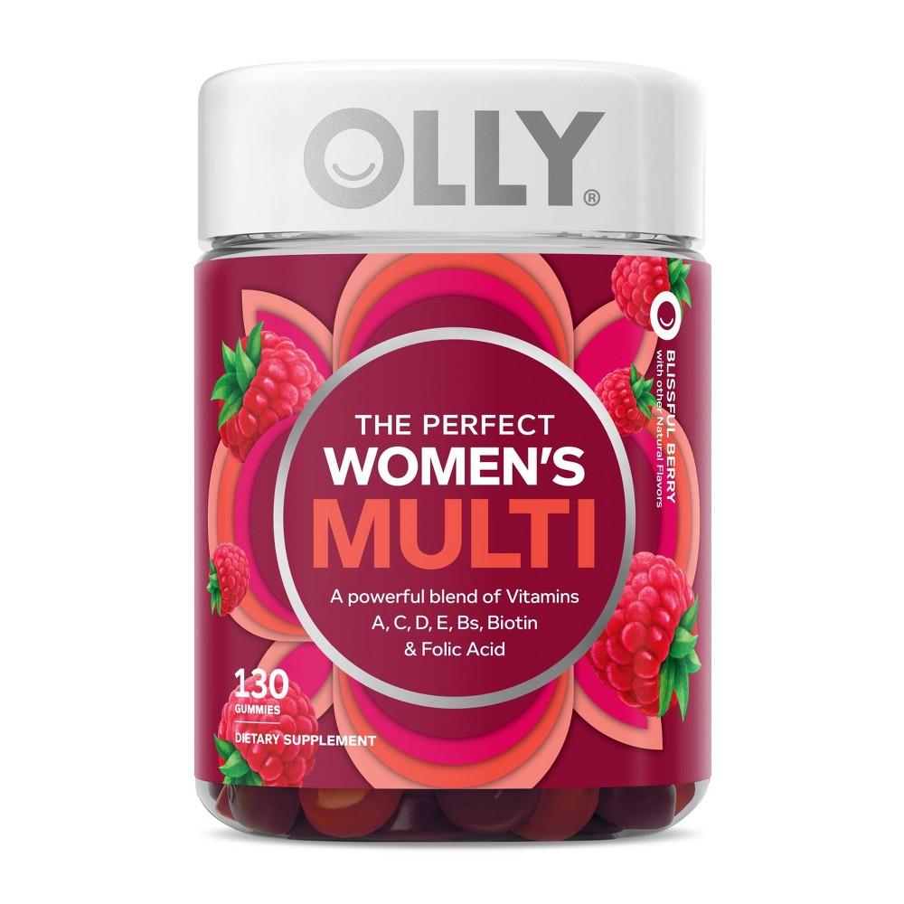 Olly Women 39 S Multivitamin Gummies Berry 130ct