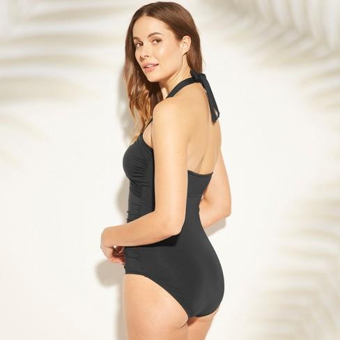 e0ac9ad7e87 Women's Center Halter One Piece Swimsuit - Kona Sol™ : Target