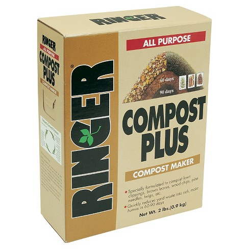 Ringer 2 lb. Compost Plus - Safer Brand - image 1 of 1