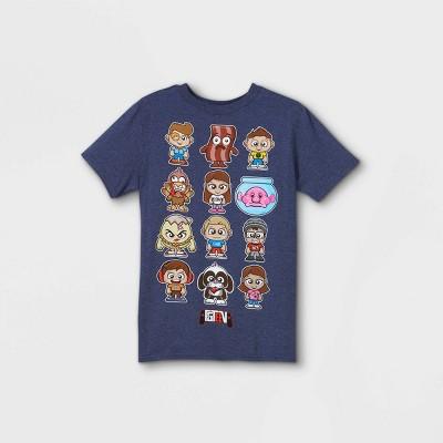 Boys' FGTeeV Short Sleeve Graphic T-Shirt - Blue