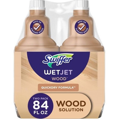 Swiffer WetJet Wood Floor Cleaner Solution Refill - 2pk
