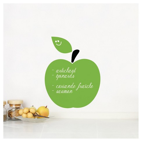 Apple Wall Decal - Green - image 1 of 1