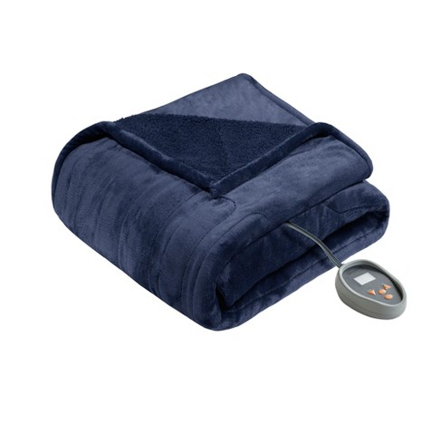 Solid Microlight Berber Electric Blanket - Beautyrest - image 1 of 8