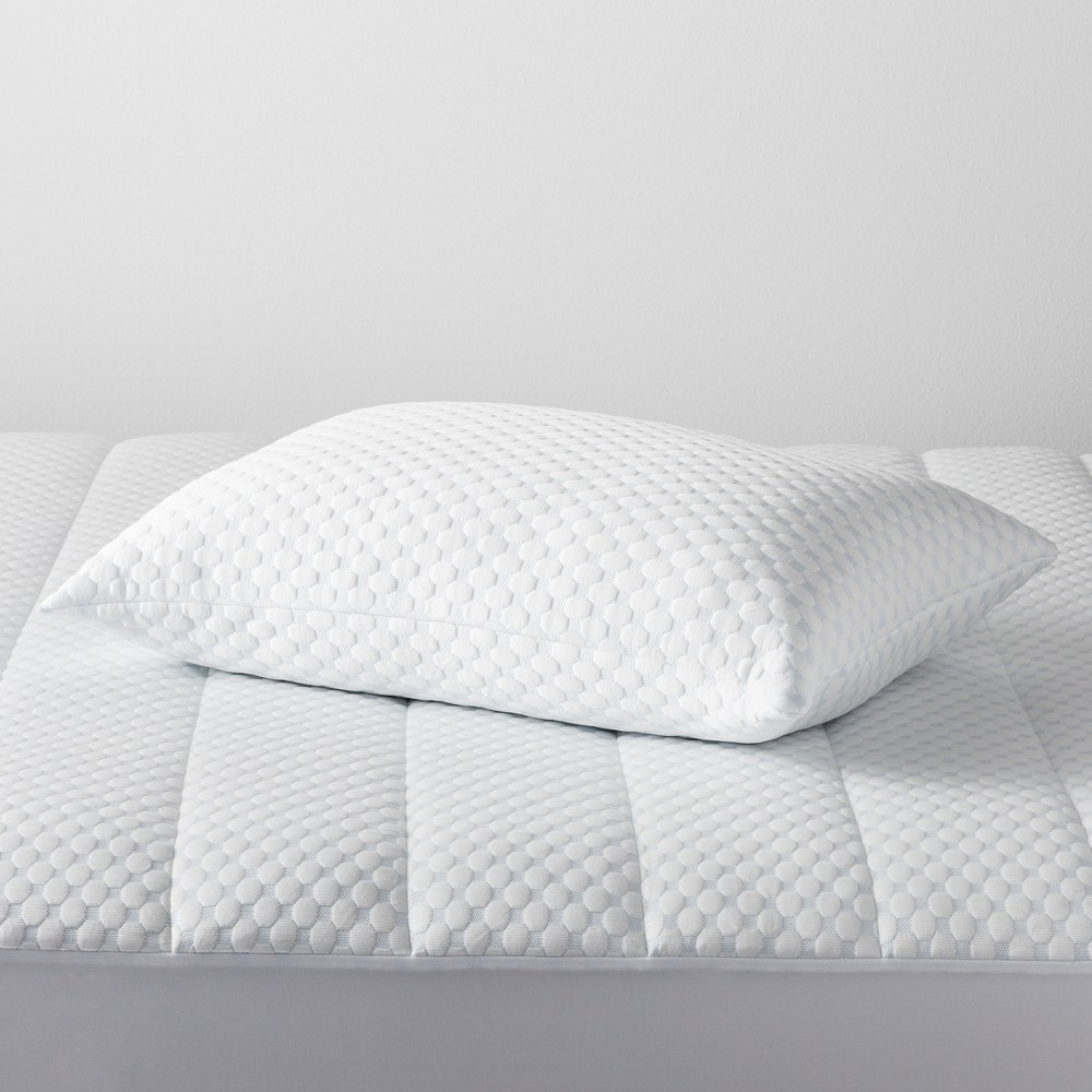 Cool Touch Comfort Pillow (Standard/Queen) White - Made By Design