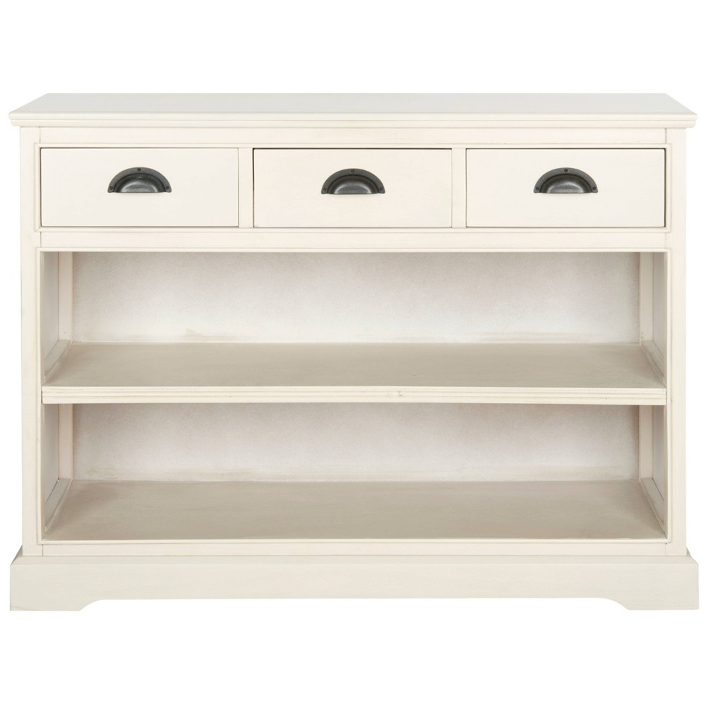 Prudence 29.9 Bookcase - White - Safavieh