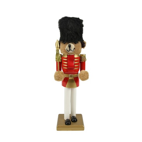 """Northlight 14"""" Red and Gold Soldier Nutcracker Christmas Table Top Decor - image 1 of 2"""
