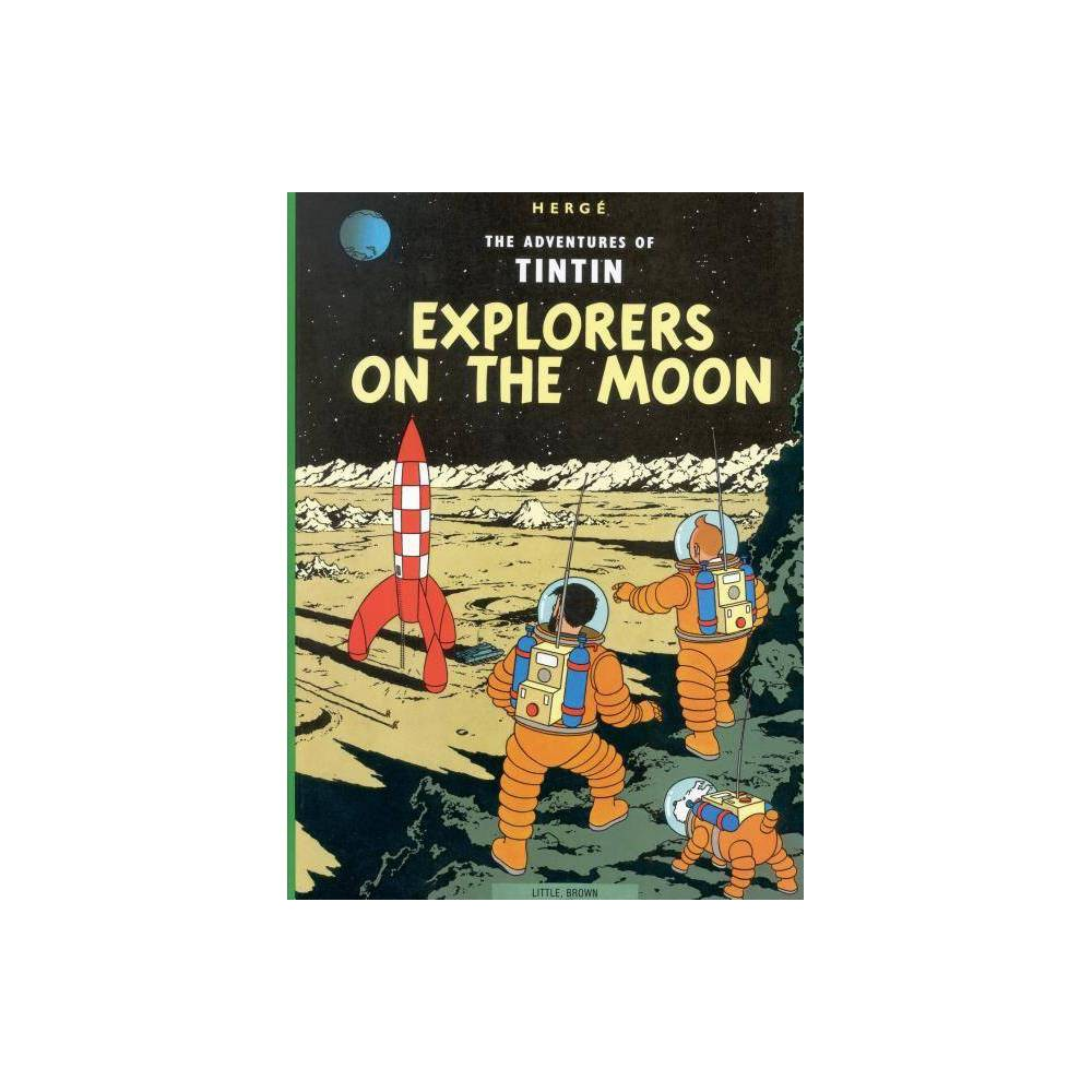 Explorers On The Moon Adventures Of Tintin Original Classic By Herg Paperback