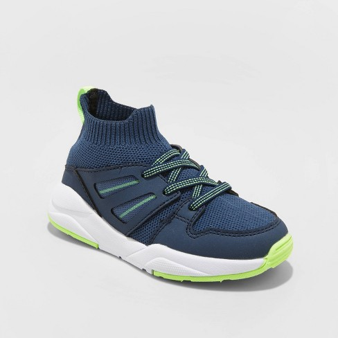 Toddler Boys' Easton Sneakers - Cat & Jack™ Navy - image 1 of 3