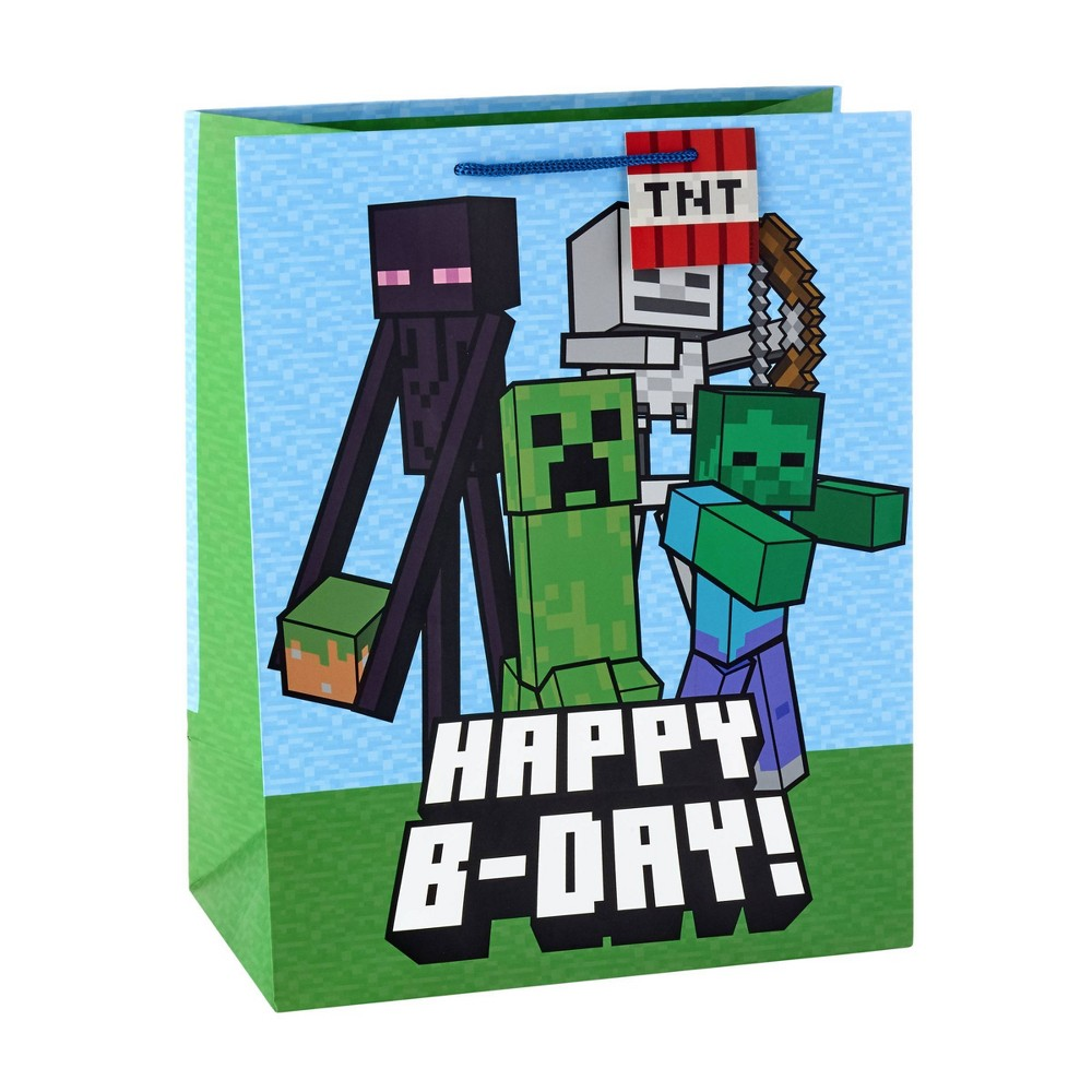 Image of Large Minecraft Cub Bag, gift bags