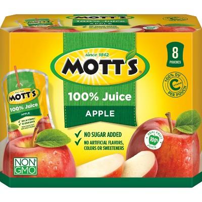 Juice Boxes: Mott's