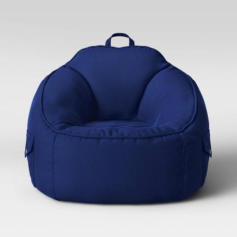 Canvas Bean Bag Chair - Pillowfort™ - image 1 of 4