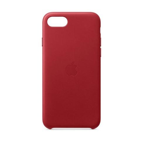 Apple iPhone SE Leather Case - (Product)Red - image 1 of 3
