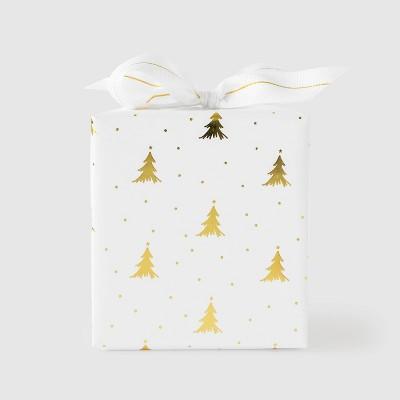 Gold Christmas Tree Gift Wrap - Sugar Paper™